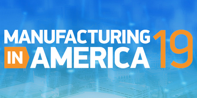 AMT to Attend Manufacturing in America 2019