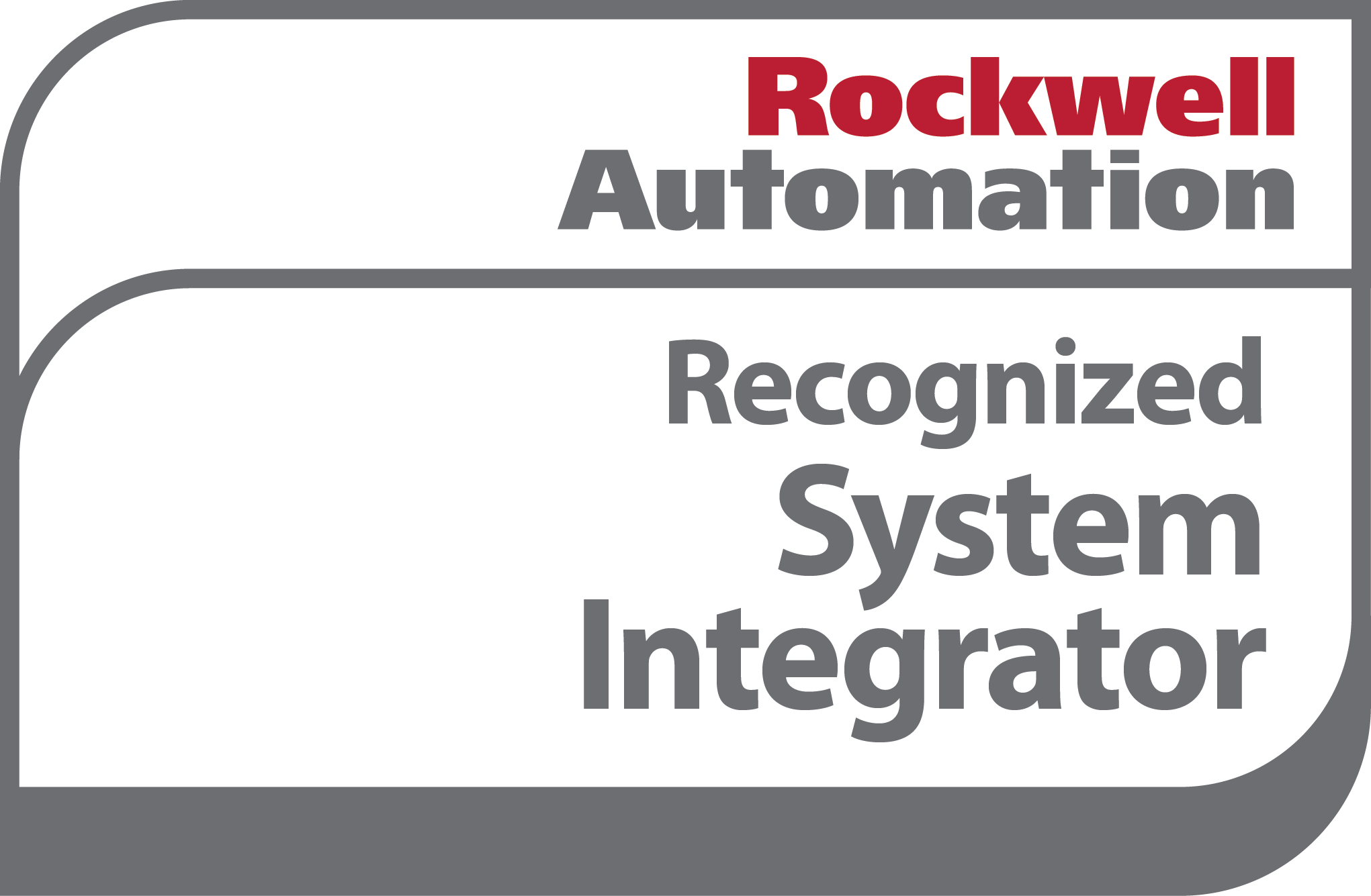 Applied Manufacturing Technologies Rockwell Automation Recognized System Integrator logo