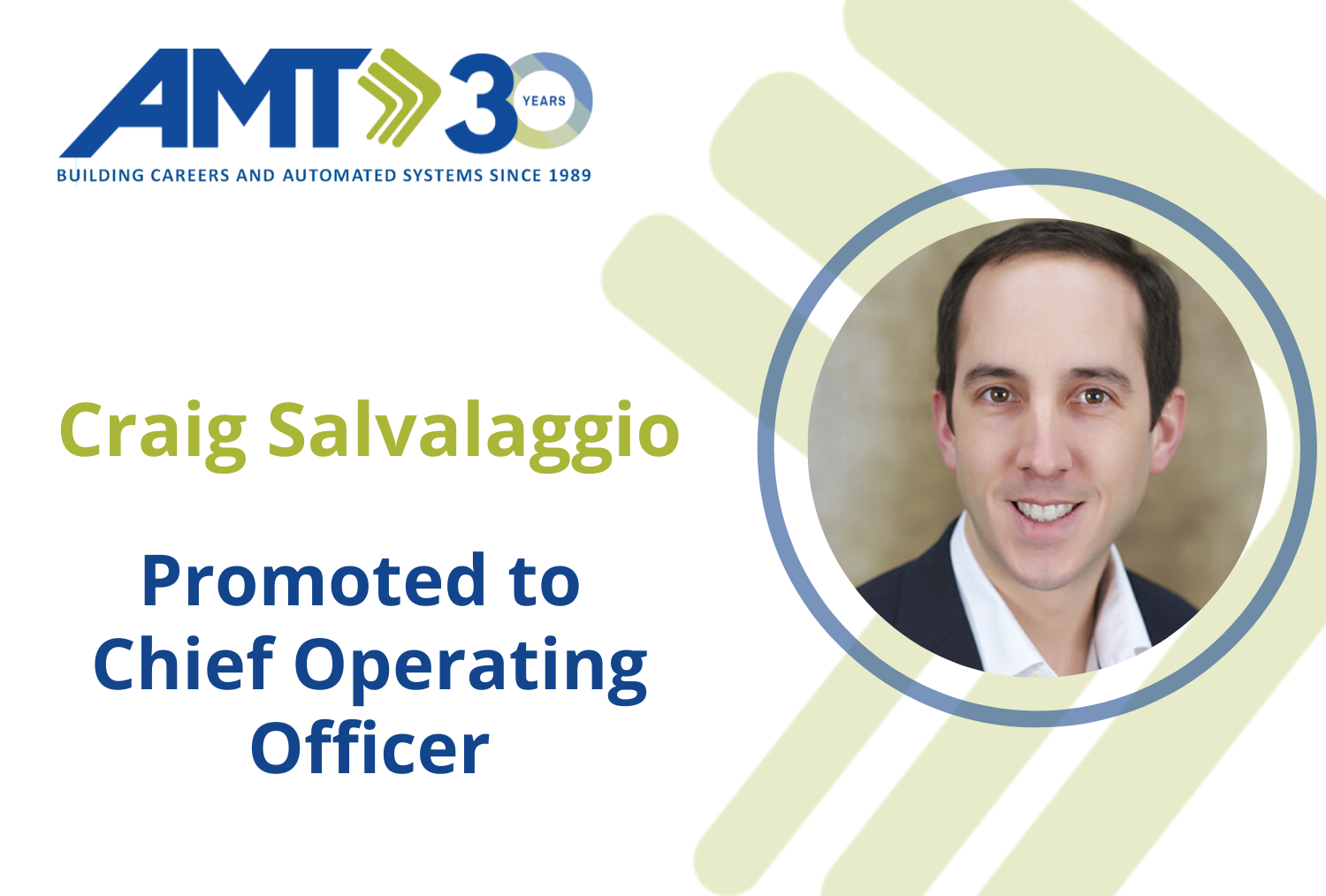 Craig Salvalaggio Promoted to COO