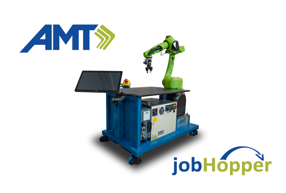 AMT Releases the jobHopper Portable Automation Workstation